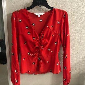 Intermix floral blouse
